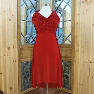 B. Darlin High Low Halter Dress